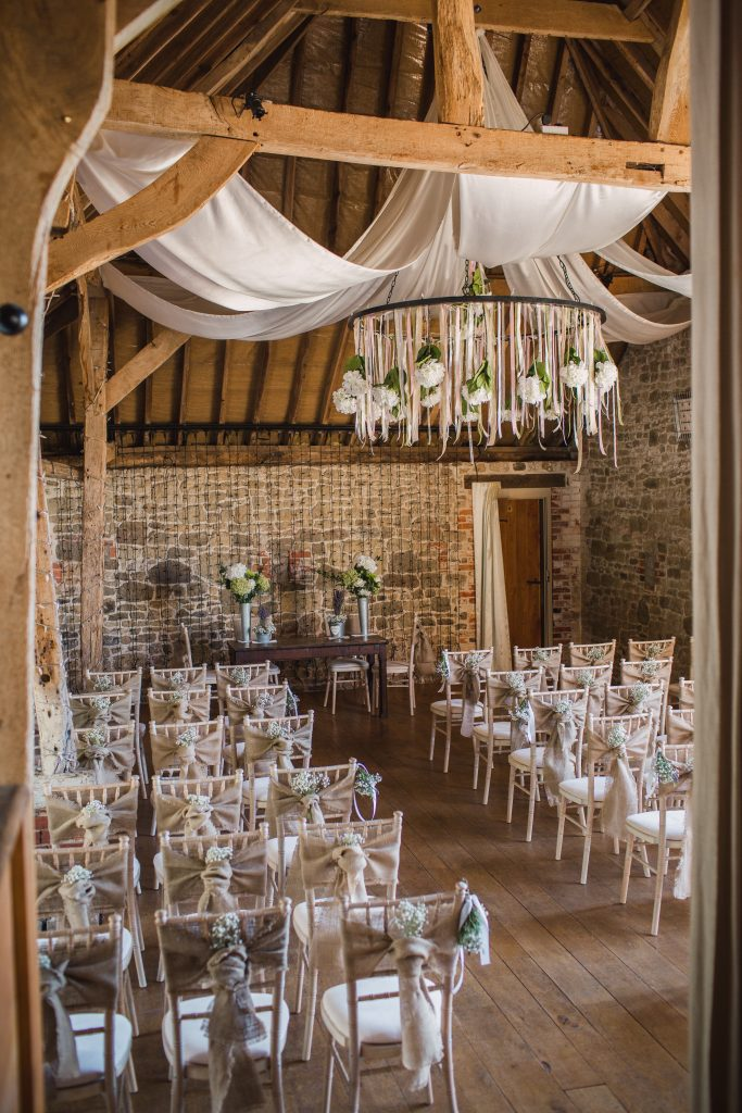 Wedding at Grittenham Barn for Zoe and Gareth